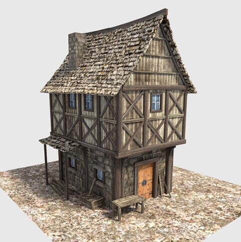 新家园中世纪村庄